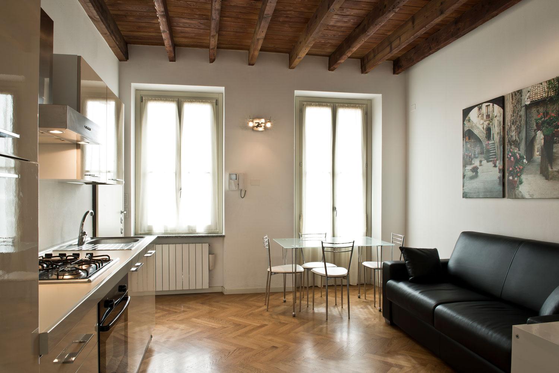Appartamento 1 camera 5 posti